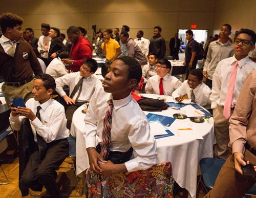 Des Moines Holds First Young Men of Color Conference