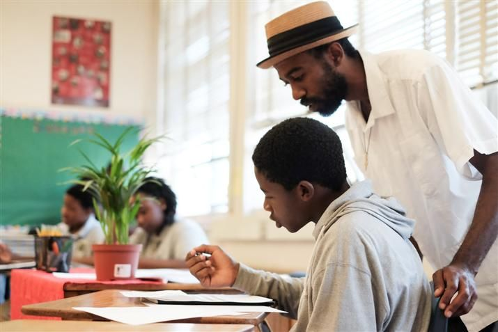 Supporting Male Students of Color Through Mentoring in the Great Cities