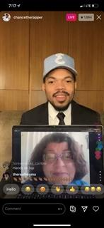 Milwaukee Teacher with Chance the Rapper