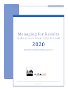 Managing for Results in America's Great City Schools, 2020